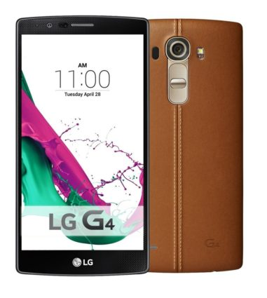 LG G4 H815 Brown Leather