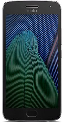 Moto G Plus (5th Generation) - 32GB - Lunar Gray smartphone