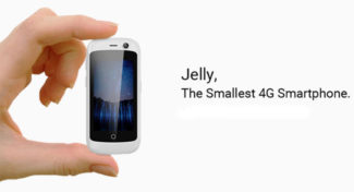 Meet Jelly: The World's Smallest 4G-enabled Smartphone