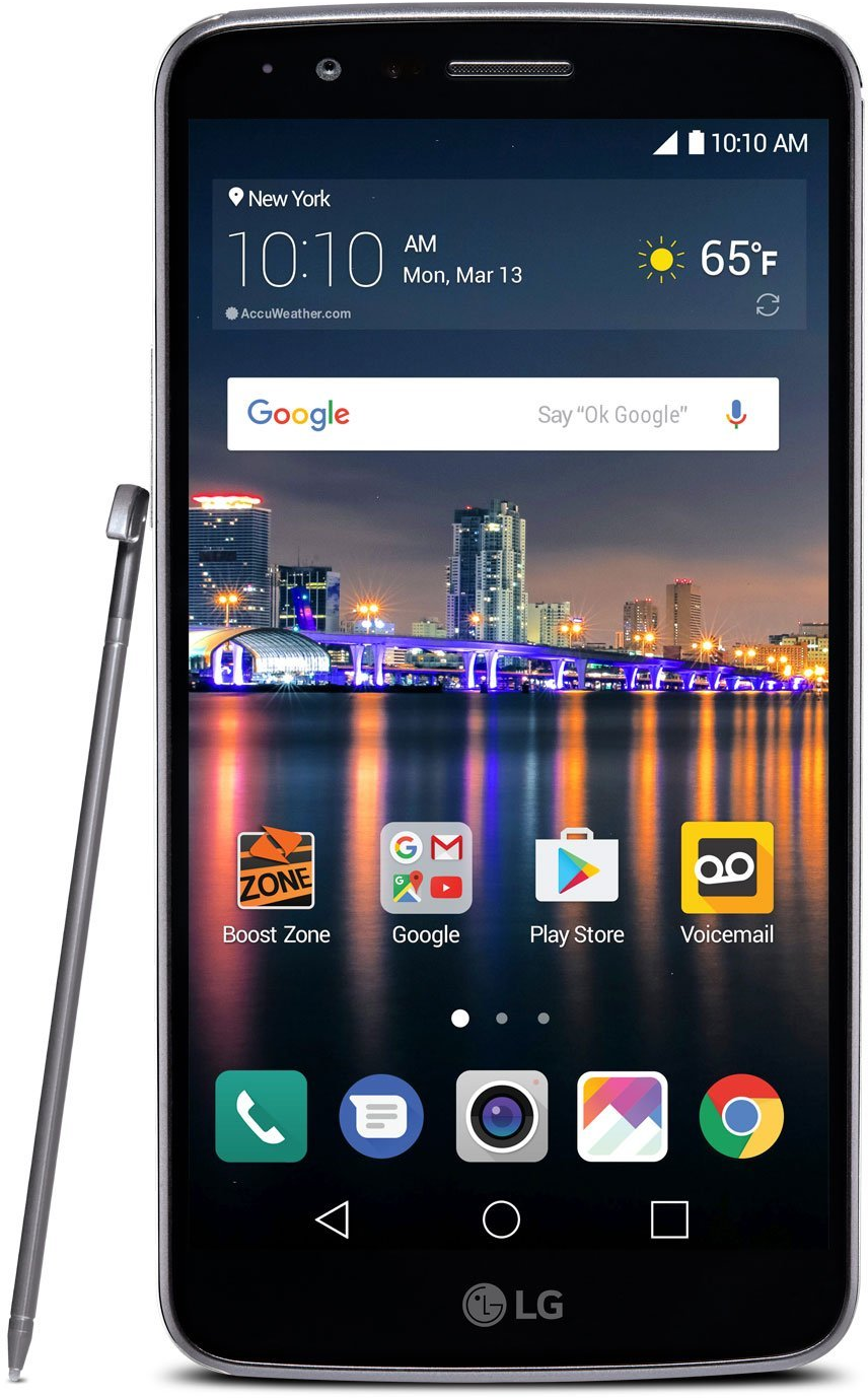 LG Stylo 3 16GB Boost Mobile smartphone