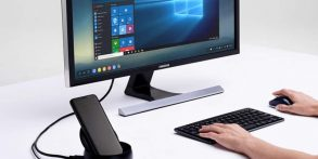 How to Turn Your Samsung Galaxy S8 Into a Desktop Using a DeX Station